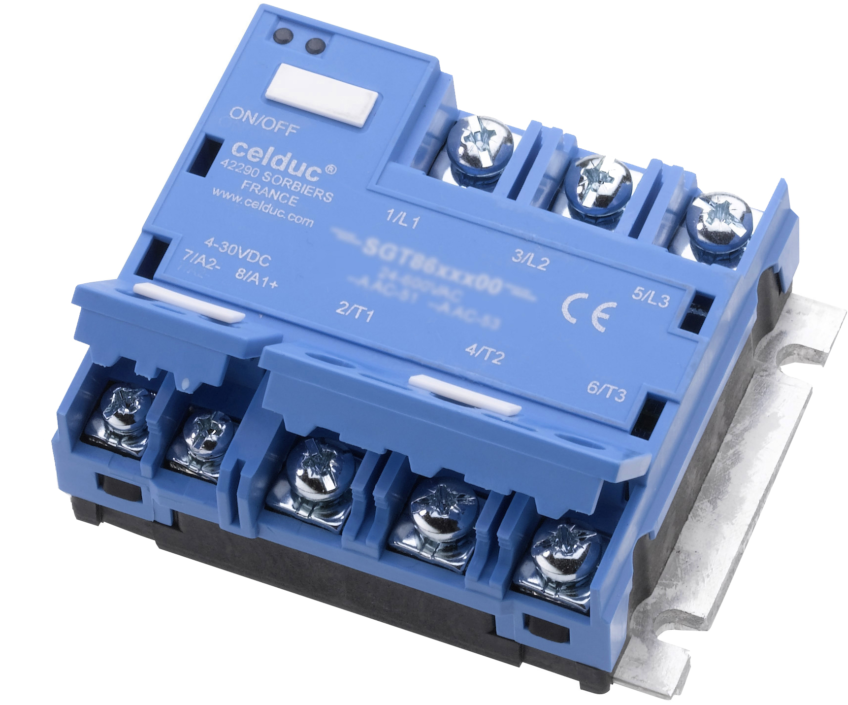 Three Phase Solid State Relays Contactors Celduc Relais Relay Vs Scr Cel3pac Range